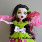 Draculaura as Snow Bite In Monster High Scary Tales