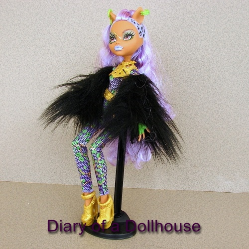 clawdeen wolf ghouls rule monster high doll diary of a