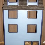 The Dollhouse Exterior Is Finished – Now Onto The Interior Rooms – The Fun Stuff