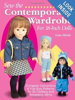 "American Girl 18"" Doll Pattern Book"