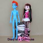 Wave 1 Draculaura and Naked Holt Hyde Pre-Owned Dolls