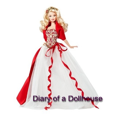 Holiday Edition Collector Christmas Barbie Dolls | Diary of a ...