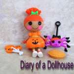 Mini Lalaloopsy Pumpkin Candle Light From Target