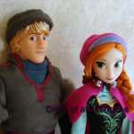 Disney Frozen Anna and Kristoff Dolls