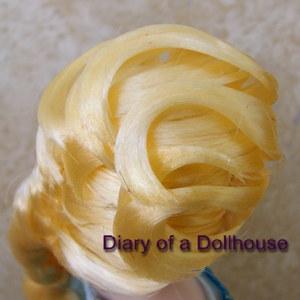 Frozen Elsa Doll Hairstyle