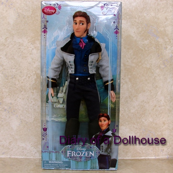 Disney Store Frozen Hans Doll