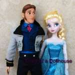 Disney Frozen Elsa and Hans Dolls
