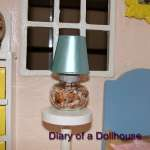 How I Made A Bedside Table Lamp Filled With Shells For My Playscale Dollhouse