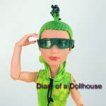 Monster High Scaris Deuce Gorgon Visits The Dollhouse