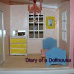 Updated Upstairs and Downstairs In The Beach Cottage Dollhouse