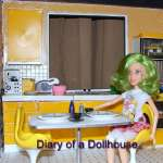 Update On The Main Kitchen Dollhouse Room