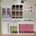 Semi-Handmade Dollhouse Kitchen