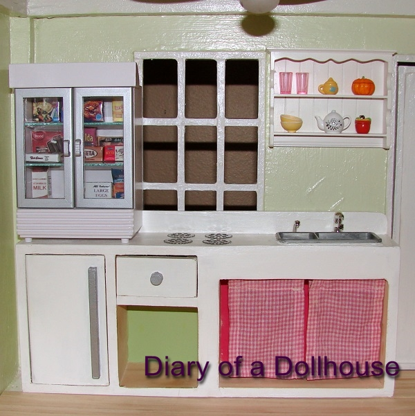 dollhouse kitchen homemade - Dollhouse Kitchen