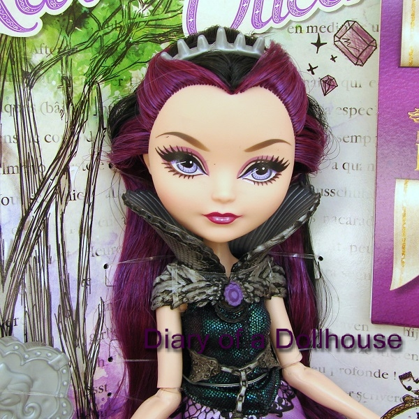 EVER AFTER HIGH DOLL CLOTHING 1ST FIRST CHAPTER RAVEN QUEEN PURPLE BLACK SKIRT