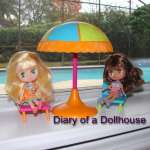 Groovy Girls Mini Dolls Island Time On A Rainy Day