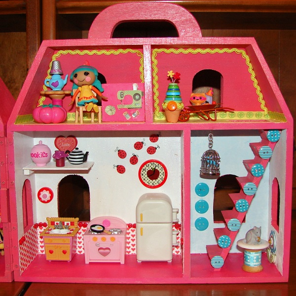 I Created My Own Lalaloopsy Mini Doll House Diary Of A