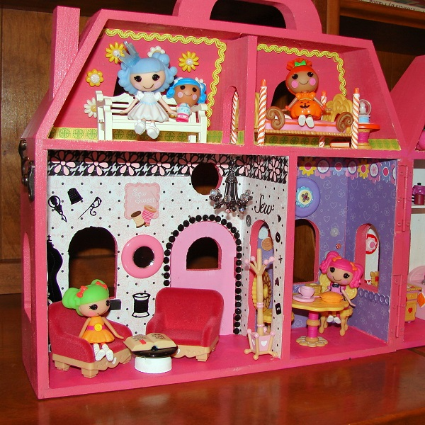 I Created My Own Lalaloopsy Mini Doll House Diary of a  : Lalahouse81 from www.diaryofadollhouse.com size 600 x 600 jpeg 185kB
