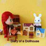 Tiny Calico Critters Dollhouses For My Littlest Pet Shop Blythe Doll