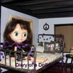 Finished Blythes Bedroom In The Big Dollhouse Today