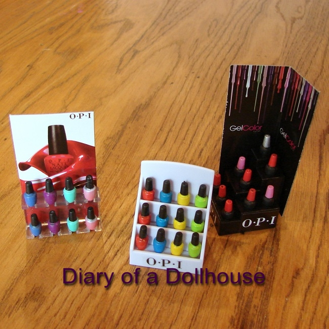 Miworld Opi Nail Salon Perfect For Dolly Manicures Diary Of A Dollhouse
