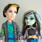 Jackson Jekyll and Frankie Stein Picnic Casket Doll Set – Are Sparks Flying Between Them?