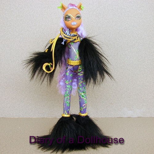 Clawdeen Wolf Ghouls Rule Doll & Clawdeen Wolf Ghouls Rule Monster High Doll | Diary of a Dollhouse