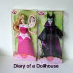 Disney Store Aurora and Maleficent Dolls – Shipping Fail