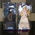 Maleficent and Aurora Disney Store Dolls