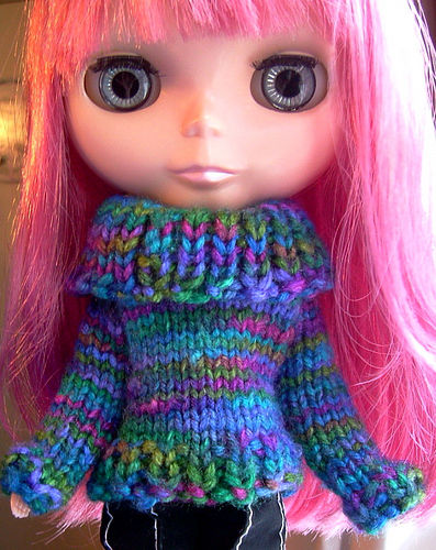 Free Blythe Doll Clothes Patterns To Sew Knit And Crochet Diary Of
