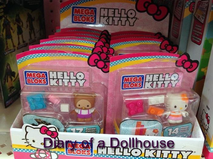Hello Kitty Mega Bloks Figures