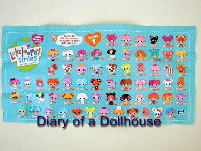 Lalaloopsy Tinies Series 2 Collector List