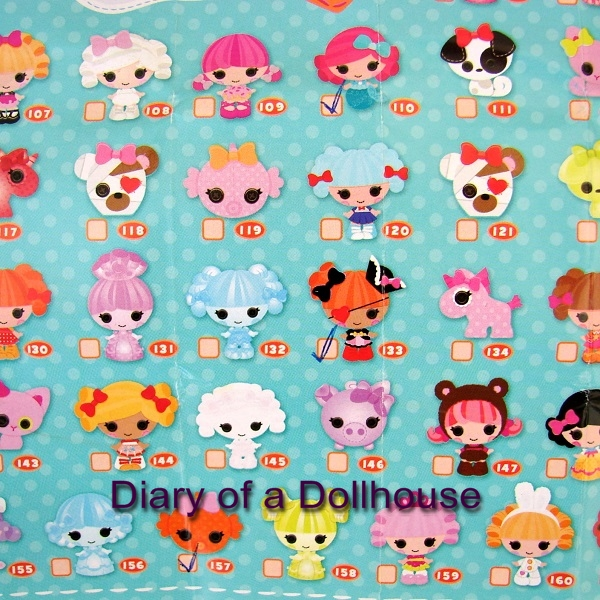 Lalaloopsy Tinies Series 1 Collector List