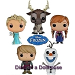 Funko POP Disney Frozen Set of 5 Figures- Anna, Elsa, Kristoff, Olaf And Sven