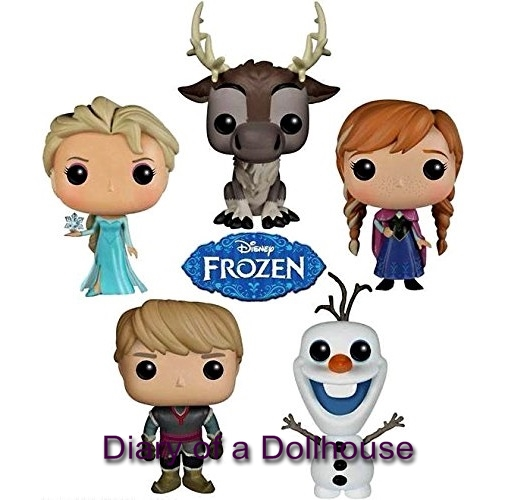 Frozen Funko Pop Vinyl Figures