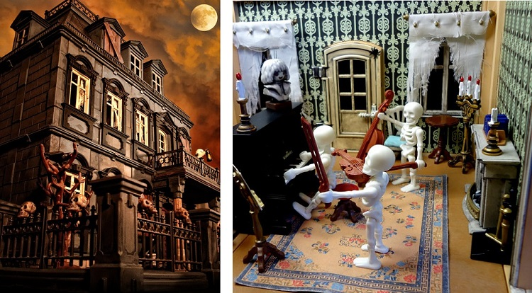 Playmobil Customized Haunted House