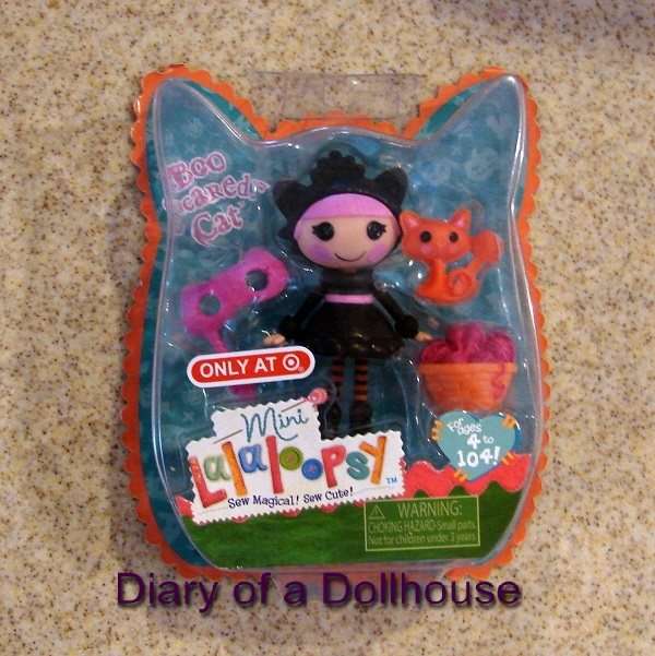 boo scaredy cat lalaloopsy mini doll