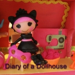 Mini Mooshka Elephant and Boo Scaredy Cat Mini Lalaloopsy