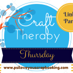 Diary of a Dollhouse Joined The Craft Therapy Thursday Linky Party