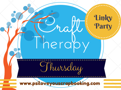 Craft Therapy Linky Party