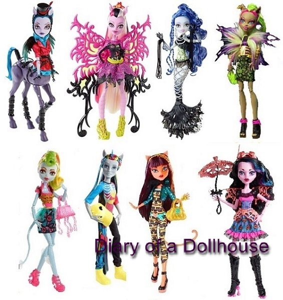 Freaky Fusion Monster High Doll