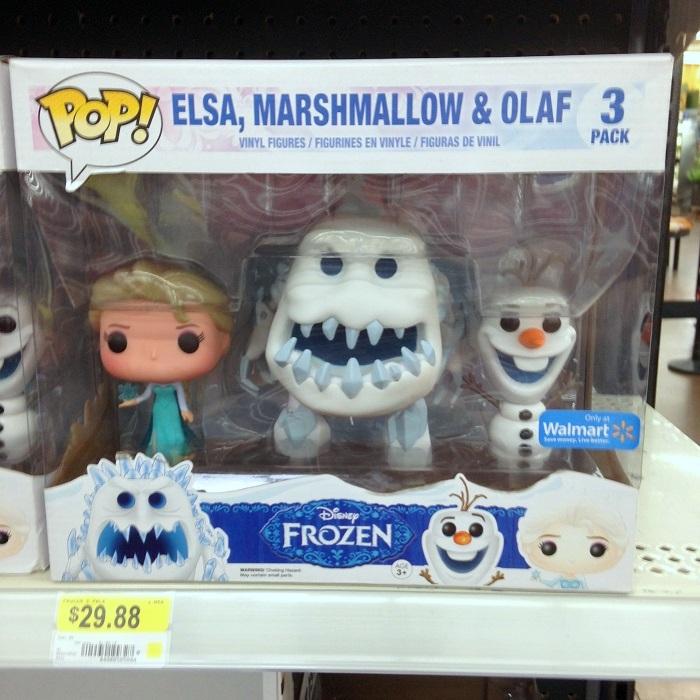Frozen Funko Pop Vinyl Marshmallow Monster Elsa Figures