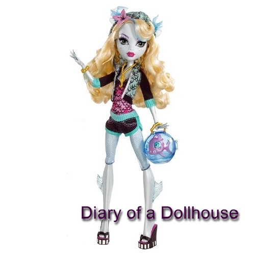 Monster High LAGOONA BLUE Classroom Mad Science Frog